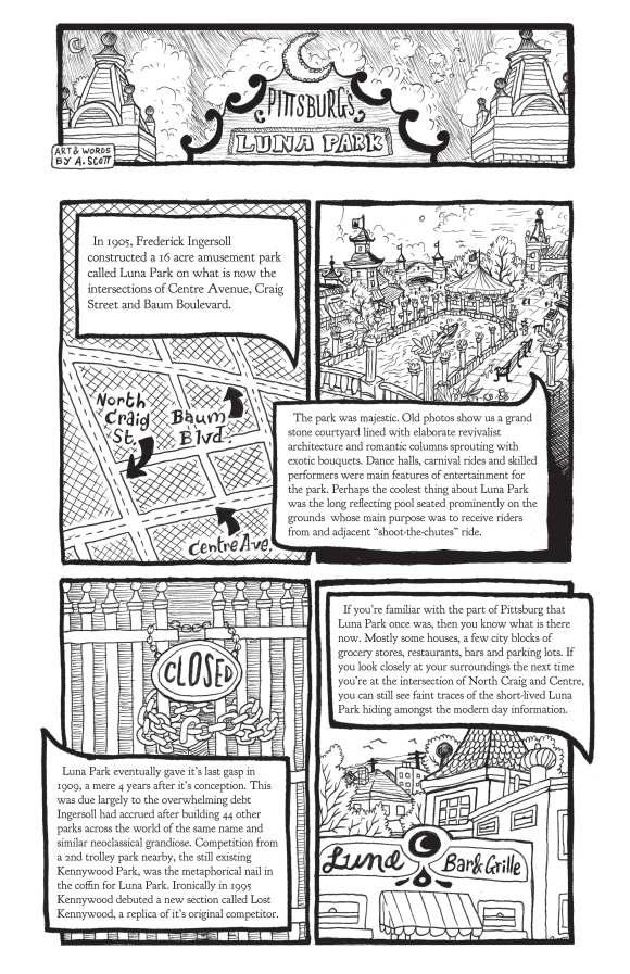 Luna Park Comic